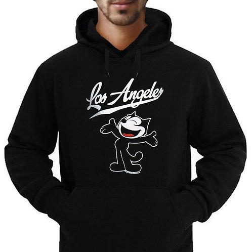 Los Angeles Felix Cat Adult Hoodie Sweatshirt