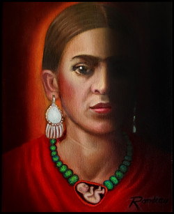 Frida y Su Alma 8 x 10