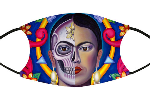 Amor de Frida Adjustable Filter Face Mask S-M w/4 Filters/ Reusable / Washable