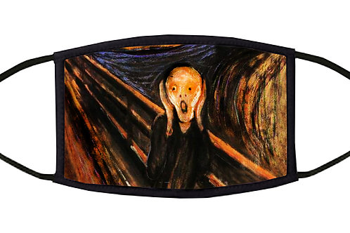 The Scream Adjustable Face Mask
