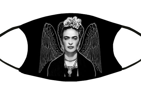 Frida's Wings Adjustable Filter Face Mask w/4 Filters S-M/ Reusable / Washable