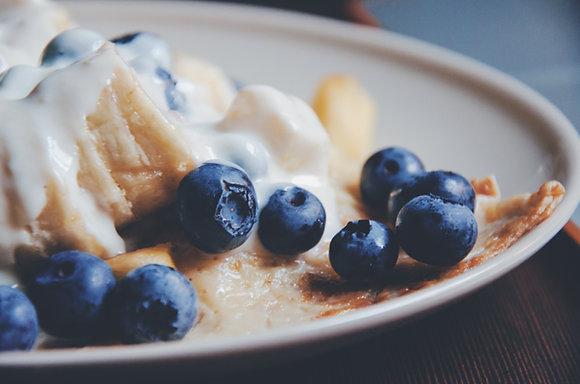 Blueberry & Vanilla Botanical Snap Bar