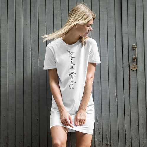 Perfectly Imperfect cotton t-shirt dress