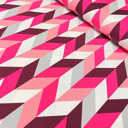 Jersey mit Muster in rosa-pink, auf der Rolle