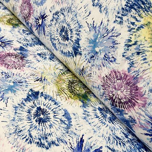 Jersey colorsplash in blue-lilac, auf der Rolle