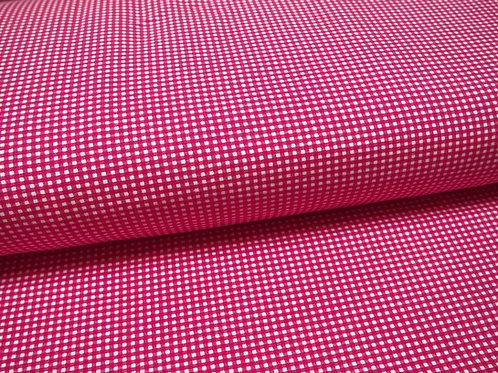 pinker Karo Jersey