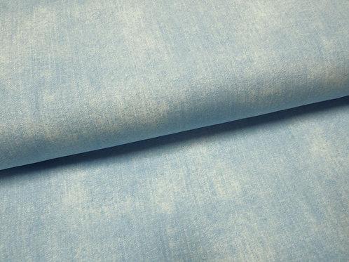 hellblauer Jersey-Stoff in Jeans Optik used Look