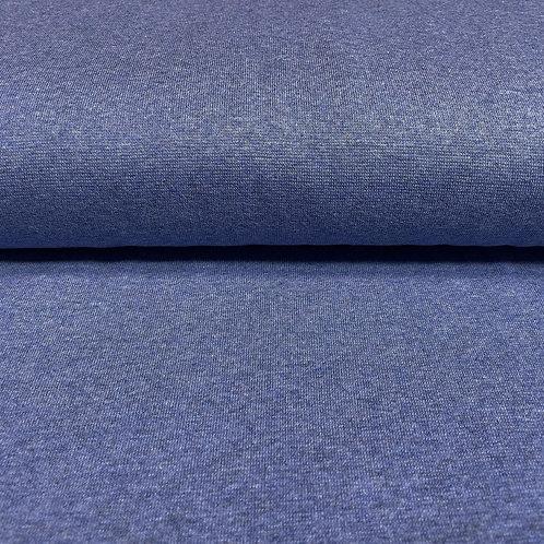 Bündchen meliert in blau, auf der Rolle