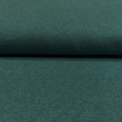 Bündchen in dunkelgrün meliert, auf der Rolle