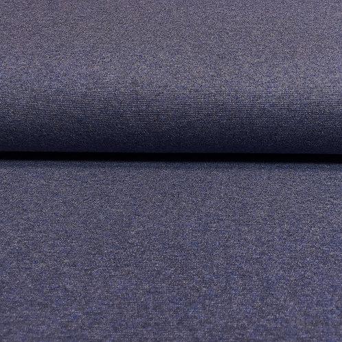 Bündchen in dunkelblau meliert, auf der Rolle