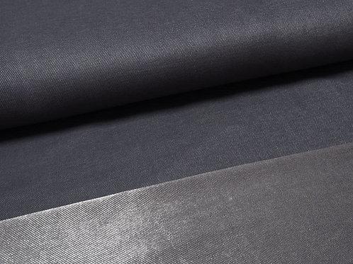 dunkelblauer Jersey-Stoff denim look