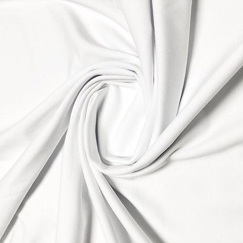 Bio-Jersey-Stoff in weiß