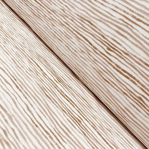 Jersey mit Streifen in mandelbraun, auf der Rolle