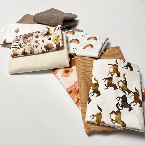 Reste-Paket flowers and animals