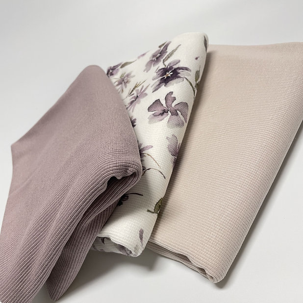 stoffkombi-ripp-wildblume-lila