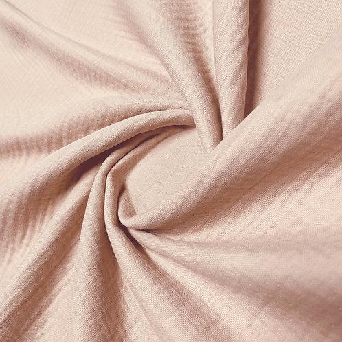 Musselin in rose.