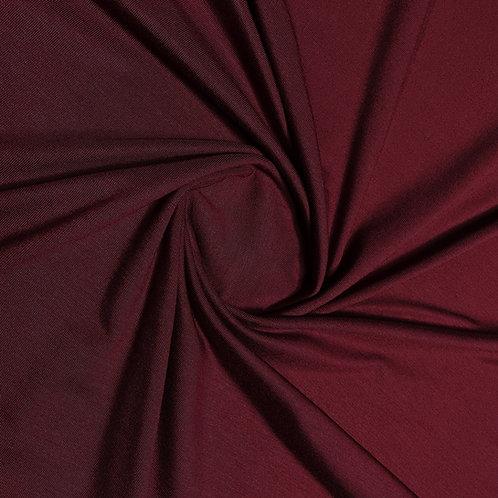 Tencel Modal Jersey in dunkel-bordeaux
