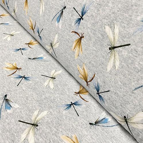 Jersey mit Libellen, auf der Rolle