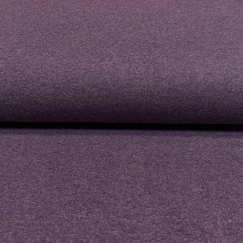 Bündchen meliert in violett, auf der Rolle