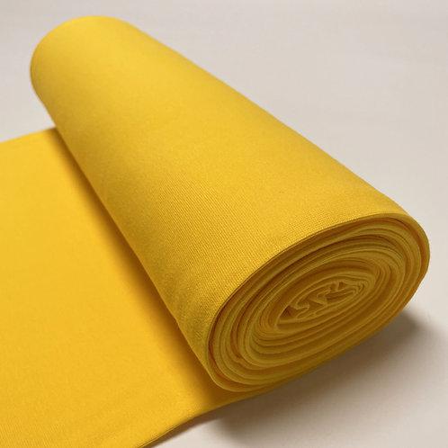 Bio-Bündchen in gelb, auf der Rolle