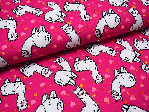 Jersey pink Alpakas