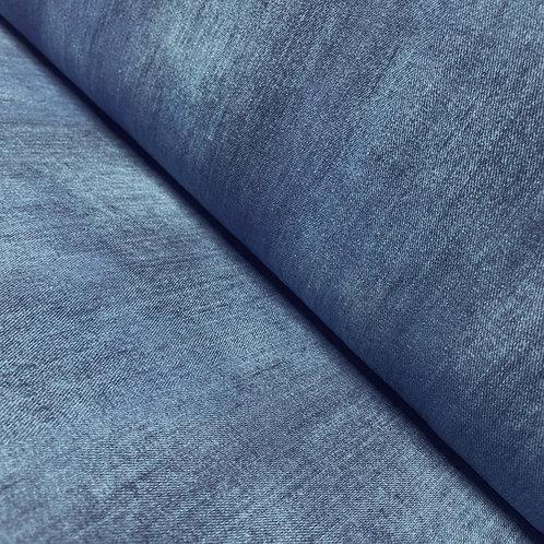 Jersey in blau im Jeanslook, auf der Rolle
