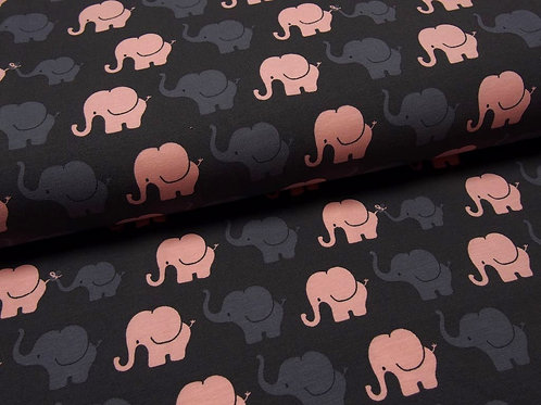 Jersey dunkelgrau Elefanten