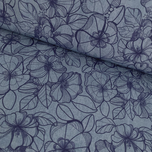Modal-Sweat Denimflower