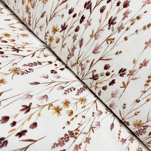 Ripp-Jersey Blumenwiese, auf der Rolle