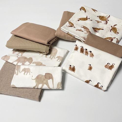 Stoffreste-Paket sandy animals