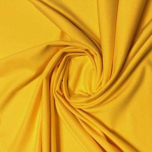 Bio-Jersey-Stoff in gelb