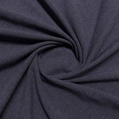 Jersey meliert in schieferblau