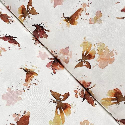 Jersey mit Schmetterlingen, auf der Rolle