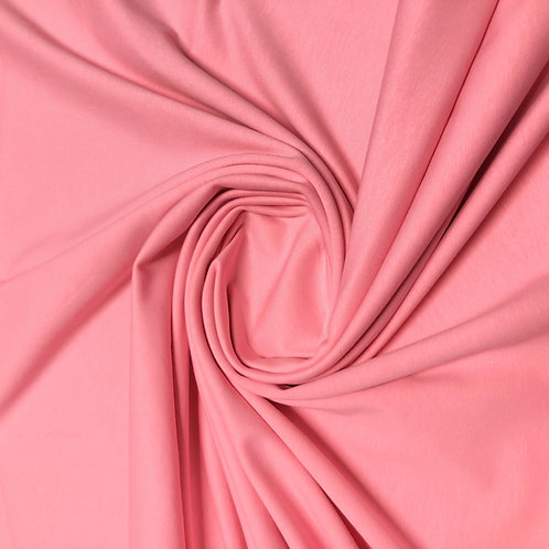 Bio-Jersey-Stoff in rosa