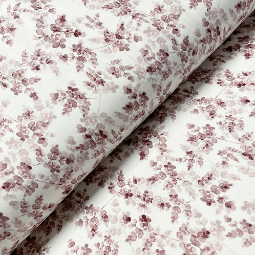 Jersey blossoms light-bordeaux