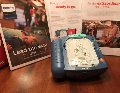 Philips HeartStart OnSite AED, Item# M5066A