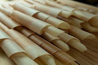 京北の杉の加工