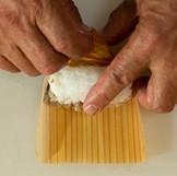 杉鮓の作り方(手巻き)