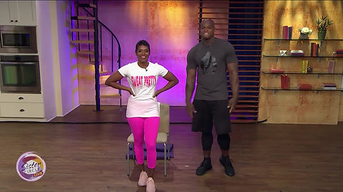 Catch up with the Guru of Abs and his innovative Seated/Standing ABS class featured on Sister Circle.
