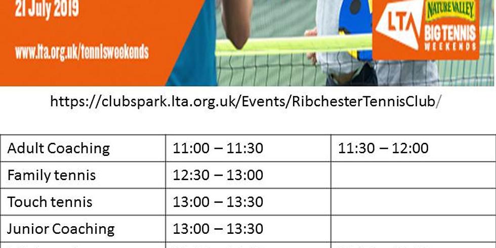 Open day Great British Tennis Weekend