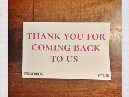 My Jonas Brothers Fan Experience