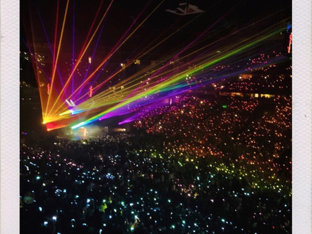 How We Turned Bridgestone Arena Into A Rainbow