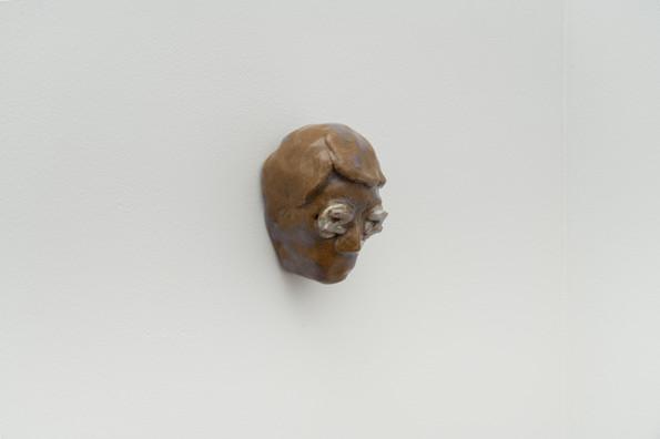 The Sleep of Reason, 2018, Ceramic, 4 x 3 x 3 inches
