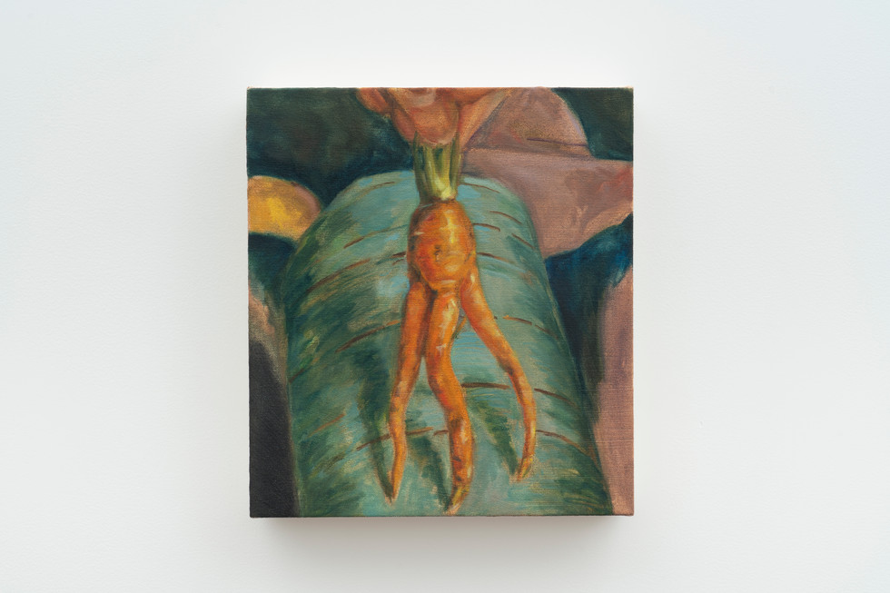 Mutant III, 2018, Oil on canvas, 13.5 x 12 inches