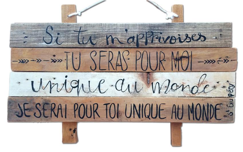 Citation d'Antoine de St Exupéry