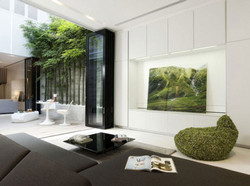 Feng-Shui-Colors-for-Modern-Japanese-Living-Room-Layout-with-Sectional-Sofas