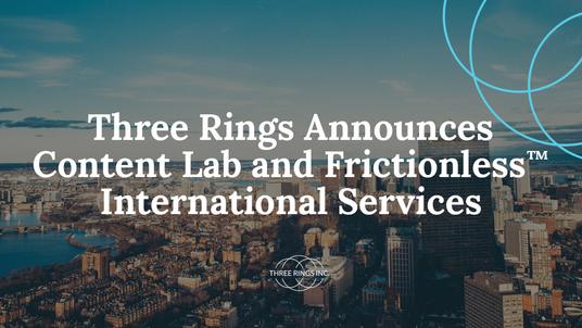 News: Three Rings Announces