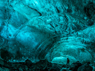 Explore the hidden treasure of East Greenland, ice cave tour!