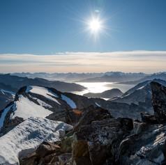 Hjelman peak view