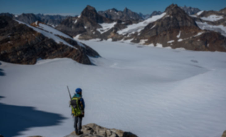 Glacier traverse - Nunatak adventures